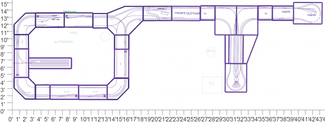 Layout for the 2013 CRMHA Show